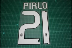 AC Milan 10/11 #21 PIRLO Homekit / 3rd Awaykit Nameset Printing