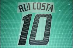 AC Milan 02/04 #10 RUI COSTA Awaykit Nameset Printing