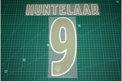 Ajax Amsterdam 18/19 #9 HUNTELAAR Awaykit Nameset Printing