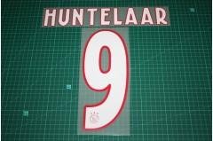 Ajax Amsterdam 18/19 #9 HUNTELAAR Homekit Nameset Printing