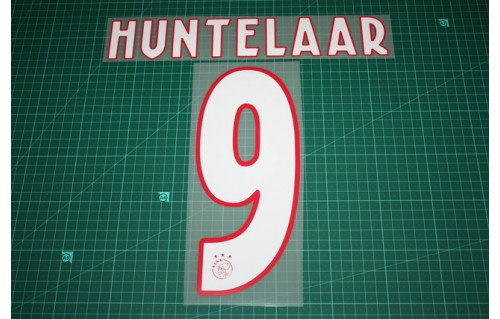 Details about  /KIT Names+Numbers Official Ajax Home//Away 1997-1998 Nameset Replica Size