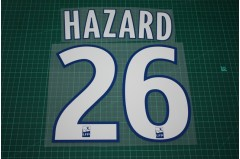 Lille 08/09 #26 HAZARD Homekit Nameset Printing