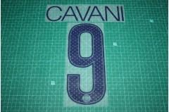 PSG 17/18 #9 CAVANI UEFA Champions League Awaykit Nameset Printing
