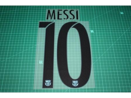 Barcelona 15/16 #10 MESSI 3rd Awaykit Nameset Printing