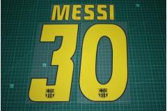 Barcelona 04/05 #30 MESSI Homekit / Awaykit Nameset Printing