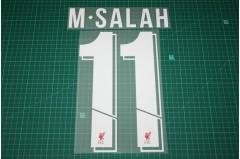 Liverpool 18/19 #11 M. SALAH Homekit Nameset Printing