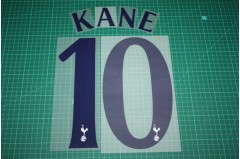 Tottenham Hotspur 15/16 #10 KANE Homekit Nameset Printing