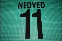 Juventus 02/03 #11 NEDVED Awaykit Nameset Printing