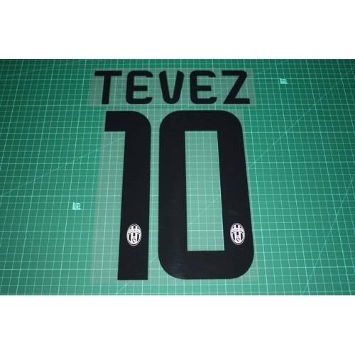 058984068dc Juventus 14 15  10 TEVEZ Homekit Nameset Printing
