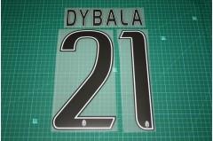 Juventus 15/16 #21 DYBALA Homekit / Awaykit Nameset Printing