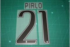 Juventus 16/17 Legend #21 PIRLO Homekit / Awaykit Nameset Printing