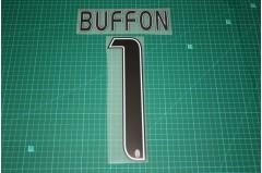 Juventus 16/17 #1 BUFFON Homekit Nameset Printing