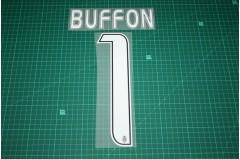 Juventus 16/17 #1 BUFFON Awaykit Nameset Printing