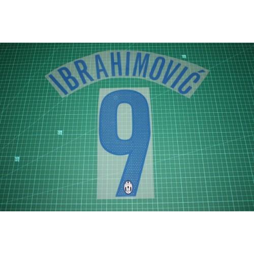 72923efb8 Juventus 05 06  9 IBRAHIMOVIC 3rd Awaykit Nameset Printing