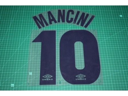 LAZIO 97/98 #10 MANCINI Homekit Nameset Printing