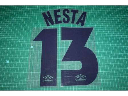 LAZIO 97/98 #13 NESTA Homekit Nameset Printing