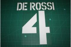 Roma 03/04 #4 DE ROSSI Homekit Nameset Printing