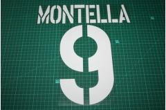 Roma 03/04 #9 MONTELLA Homekit Nameset Printing