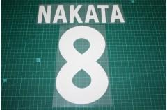 Roma 00/01 #8 NAKATA Homekit Nameset Printing