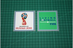FIFA RUSSIA WORLDCUP 2018 and LIVING FOOTBALL BADGE