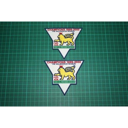 F a premier league gold champions badges 1999 2000 for Prem league table 99 00