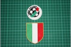 ITALIAN LEAGUE SCUDETTO and SERIE A BADGES 2002-2003