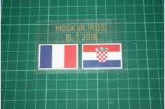 CROATIA World Cup 2018 Home Shirt Match Details FRANCE Vs CROATIA