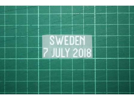 ENGLAND World Cup 2018 Home Shirt Match Details ENGLAND Vs SWEDEN