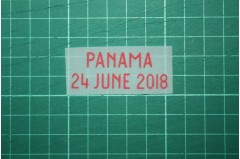 ENGLAND World Cup 2018 Home Shirt Match Details ENGLAND Vs PANAMA