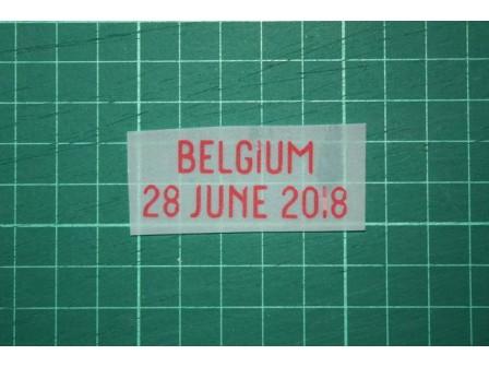 ENGLAND World Cup 2018 Home Shirt Match Details ENGLAND Vs BELGIUM