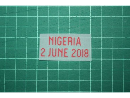 England Friendly Match 2018 Home Shirt Match Details ENGLAND Vs NIGERIA