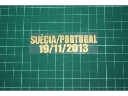 PORTUGAL World Cup play-off second-leg match 2013 Home Shirt Match Details SUÉCIA Vs PORTUGAL