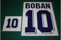Croatia 96/98 #10 BOBAN Homekit Nameset Printing