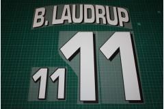 Denmark 98/00 #11 B. LAUDRUP Homekit Nameset Printing