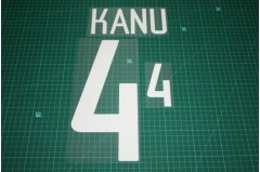 Nigeria 02/04 #4 KANU Homekit Nameset Printing