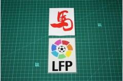 "SPANISH LEAGUE LFP and ""馬"" BADGES 2013"