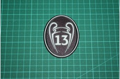 UEFA CHAMPIONS LEAGUE 13 TIMES TROPHY BADGE 2013-Present