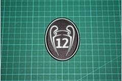 UEFA CHAMPIONS LEAGUE 12 TIMES TROPHY BADGE 2013-Present